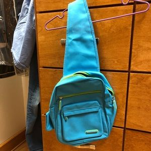 Benetton . Turquoise side bag. Never used.